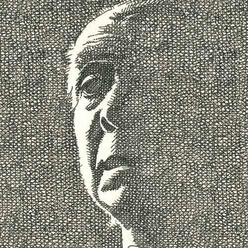 Der alte Borges.