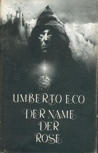 Umberto Eco: »Der Name der Rose«; Ausgabe der Büchergilde Gutenberg; Umschlagszier von Klaus Böttger
